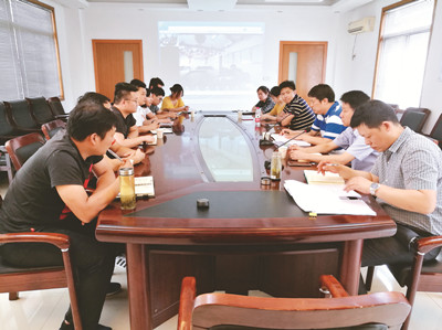 集团举办市场业务拓展一线岗位考核座谈会