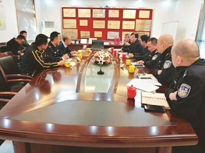 公安部专项工作组来司考察调研