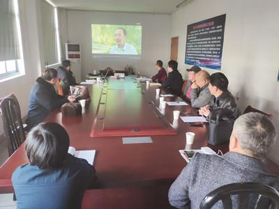 商贸第二支部召开专题组织生活会
