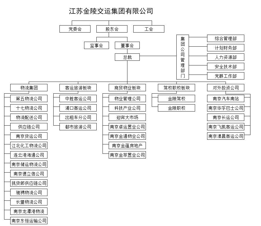 集团组织结构